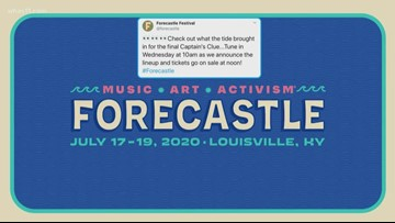 Forecastle lineup to be announced Feb. 12