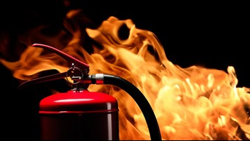 Are fire extinguishers required in Louisville businesses?