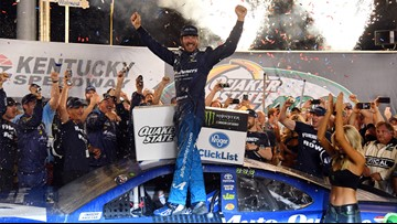Martin Truex Jr. turns in another dominating NASCAR drive at Kentucky