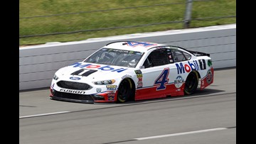 Harvick goes for 1st career Pocono Raceway win from the pole
