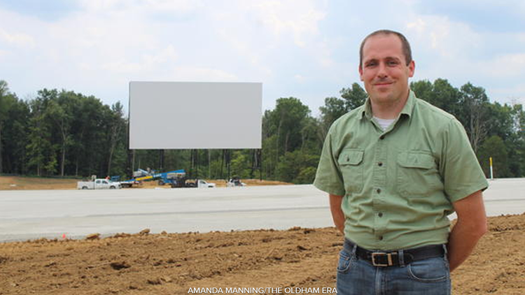 Oldham County S Sauerbeck Family Drive In Theater To Open Soon Whas11 Com