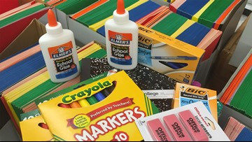 JCPS students can get free school supplies during back to school events in upcoming weeks