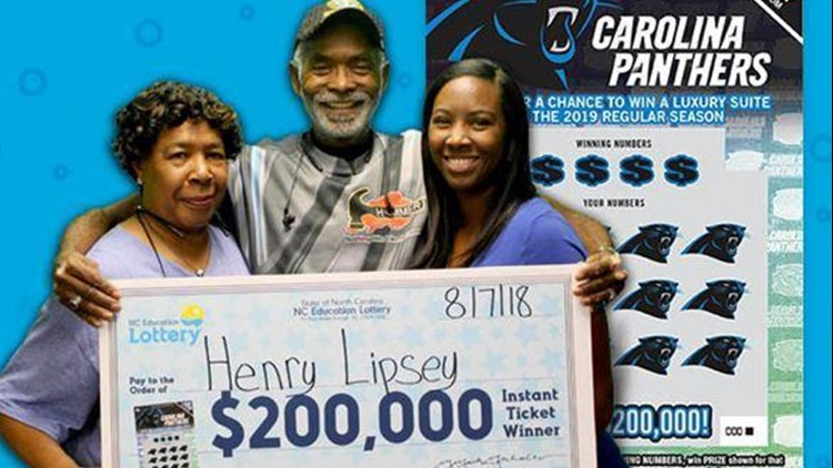 After multiple losses at a local lane with his senior bowling team, Henry Lipsey of Fayetteville stopped to purchase some lottery tickets and ended up winning $200,000.