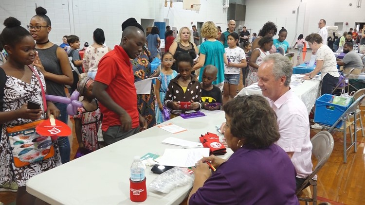 Metro Council and area organization sponsored back to school events as the first day nears for area students.