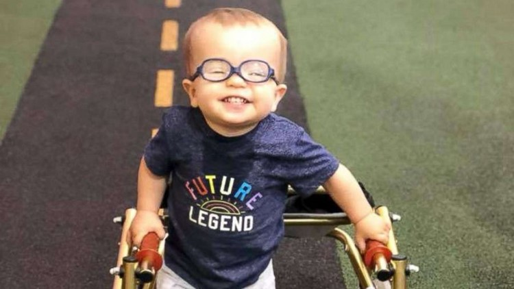 A toddler that continues defying the odds.