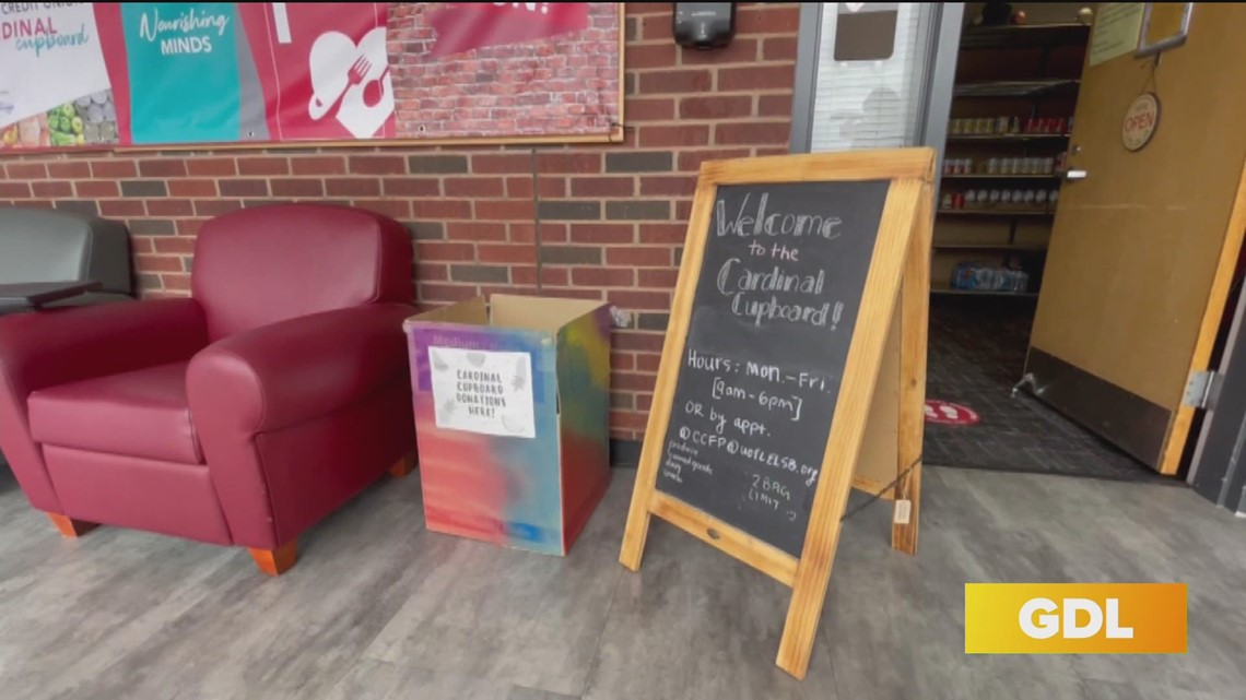 GDL: UofL launches Cardinal Cupboard food pantry for students