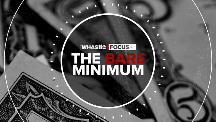 FOCUS: What's it like living on the bare minimum