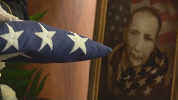 Hundreds pay respects for Ind. veteran they never knew