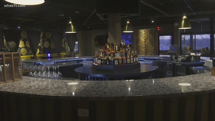 Levee at the River House reopens as bourbon lounge
