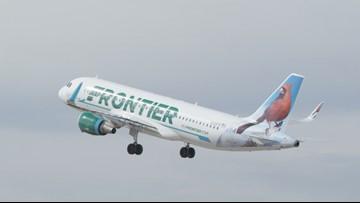 Frontier Airlines begins nonstop flights from Louisville to Orlando