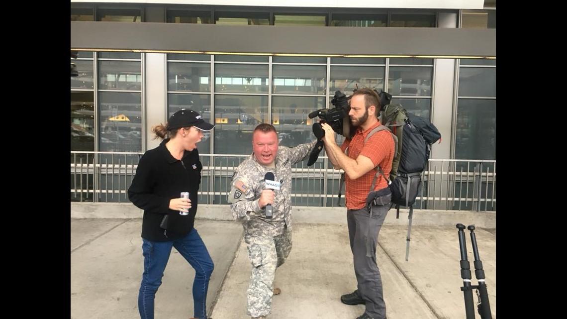 PHOTOS: KY Army National Guard Deploys to the Carolinas | whas11 com