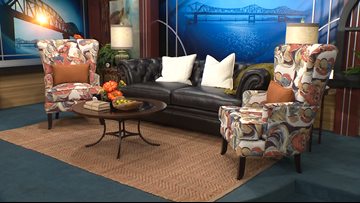 Burdorf Interiors is ready to re-decorate our Great Day Live set!