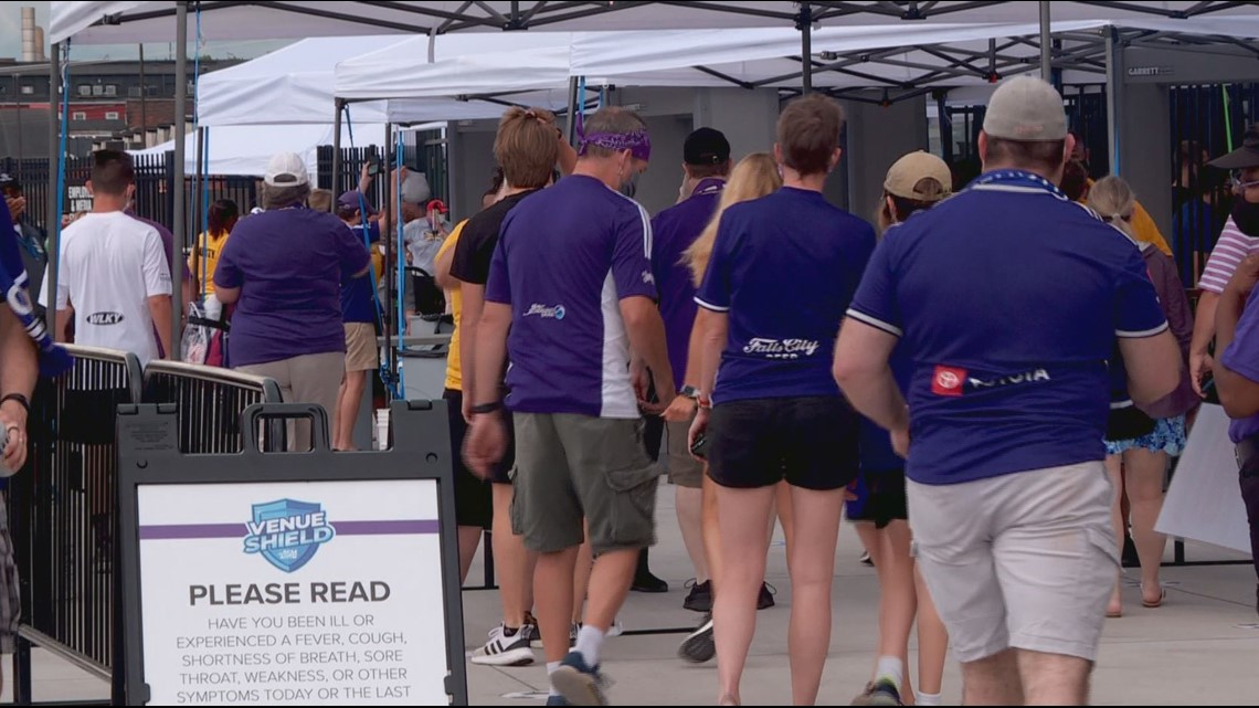 COVID safety precautions put in place for LouCity FC opener in new stadium