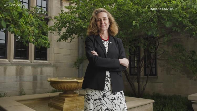 Pamela Whitten starts as Indiana University's first woman president