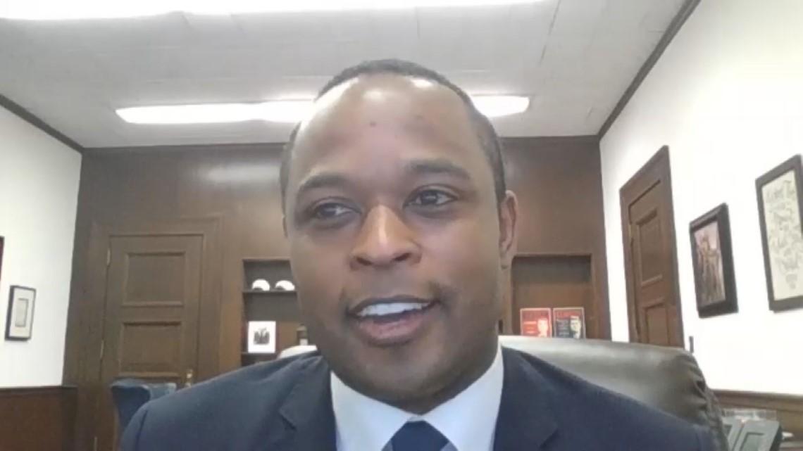 'It's unacceptable.'   Attorney General Daniel Cameron discusses D.C. riots