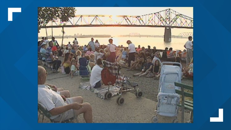 The Vault: A look back at previous 4th of July celebrations in Kentuckiana