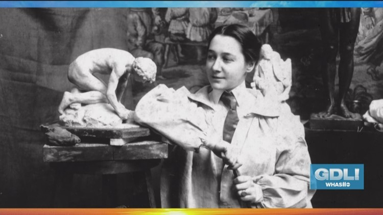 Learn ancient technique sculptor Enid Yandell used
