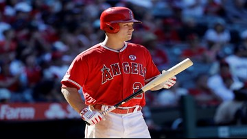 Rookie Thaiss' 8th-inning HR sends Angels past Mariners, 6-3