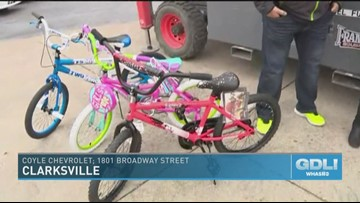 Bikes Or Bust Revs Up The Holidays For Kids Whas11 Com