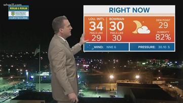 WHAS 11 President's Day Forecast