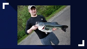 14-pound largemouth bass breaks Kentucky state record