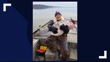 TN woman catches monster 88-pound catfish at Kentucky Lake