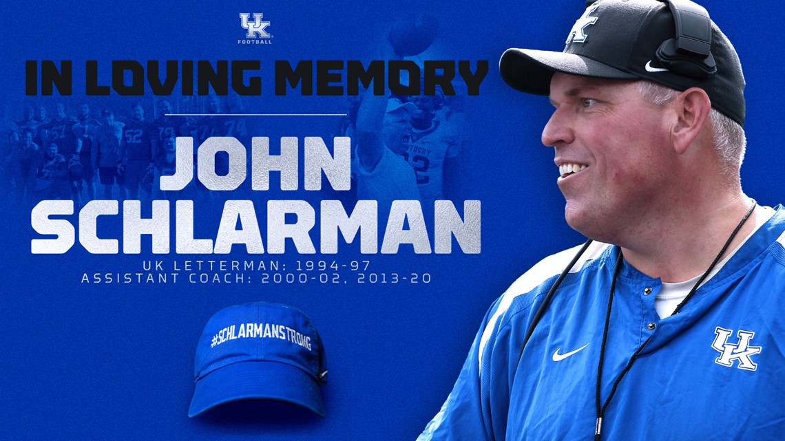 UK Assistant Coach John Schlarman dies after cancer battle