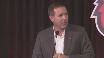 RAW VIDEO: Scott Satterfield introduced as UofL football coach
