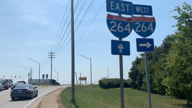 Poplar Level Road Interstate shooting