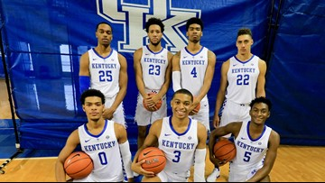 picture regarding Uk Basketball Schedule -16 Printable identified as United kingdom mens basketball 2018-2019 plan