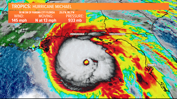 Wednesday Morning Update: Hurricane Michael Now a Major Category 4 Storm