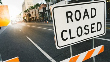 Several downtown roads closed for Friday's Veterans Day Parade