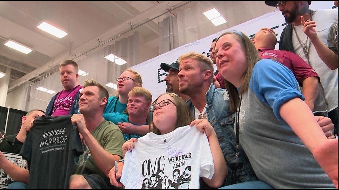 Local group surprised with backstage meet and greet with Backstreet Boys