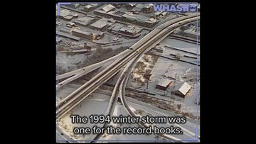 FLASHBACK: The record-breaking snowstorm of 1994