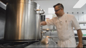 Local chef is one of eight celebrities cooking for Breeders' Cup