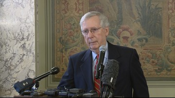 Sen. Majority Leader McConnell re-elected to another term as GOP leader
