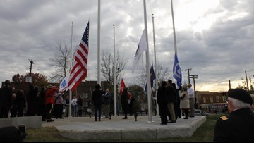 Charles Young Veterans Memorial unveiled