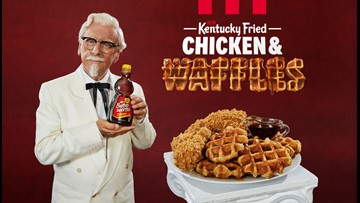 KFC's newest offering: Chicken & Waffles