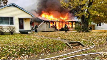 Jeffersonville house fire sends one person to the hospital