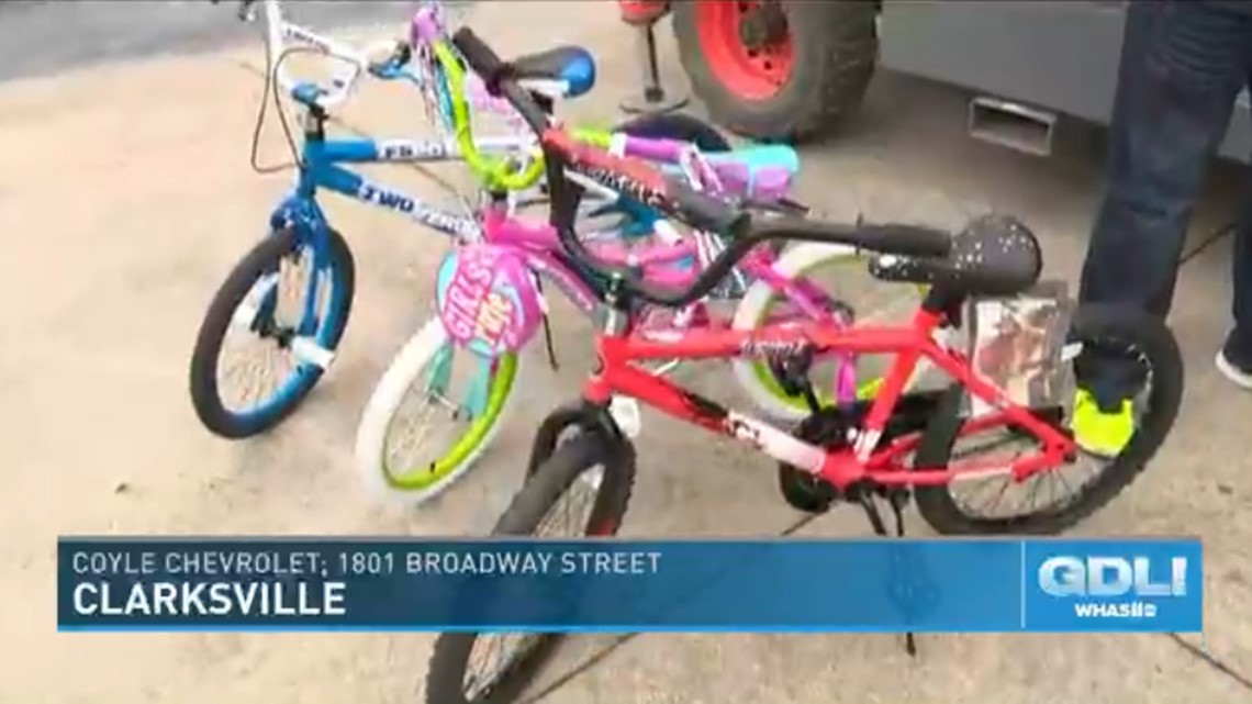 Bikes or Bust revs up the holidays for kids