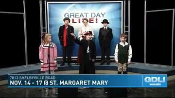 Mary Poppins Jr. production in memory of Davey Albright