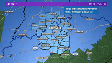 Wintry mix expected tonight into Thursday