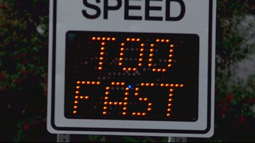 New Albany to install radar signs on busy, accident-prone street