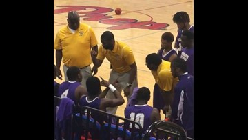 We love this coach giving an inspirational pep talk to his team in sign language
