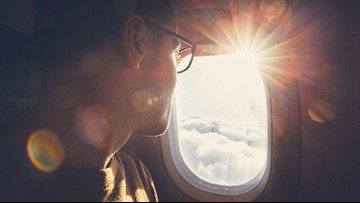Why you should wear sunscreen on your next flight
