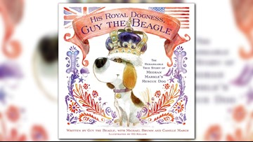 Guy, Meghan Markle's rescue dog, now has his own book
