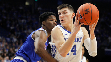 Kentucky guard Tyler Herro will remain in NBA draft