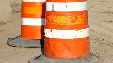 Guardrail repair work to affect 2 interstate ramps Wednesday