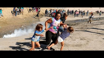 'I felt I was going to die,' says migrant mother seen fleeing tear gas with children at border