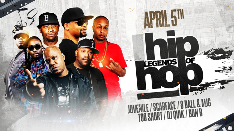 The411: The Legends of Hip Hop make a stop in Louisville
